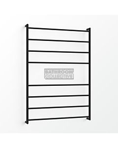 Avenir - Fluid 1300x900mm Towel Ladder - Matte Black