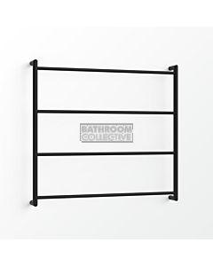 Avenir - Econ 850x900mm Heated Towel Ladder - Matte Black