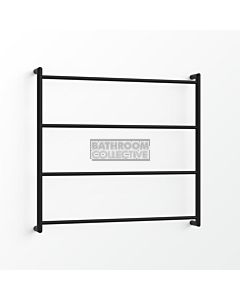 Avenir - Econ 850x900mm Towel Ladder - Matte Black