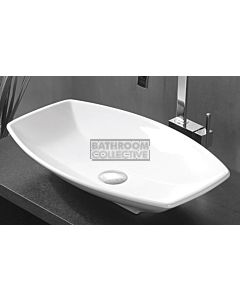 Paco Jaanson - Urban Catita 600mm Bench Mounted Basin Gloss White