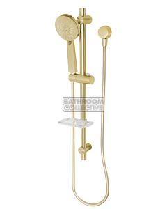 Phoenix Tapware - Vivid Rail Shower BRUSHED GOLD